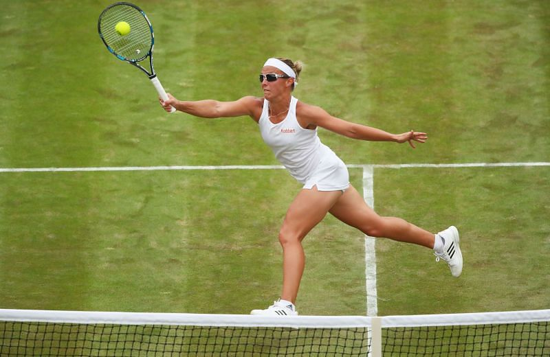 Kirsten Flipkens is at home on the faster surfaces