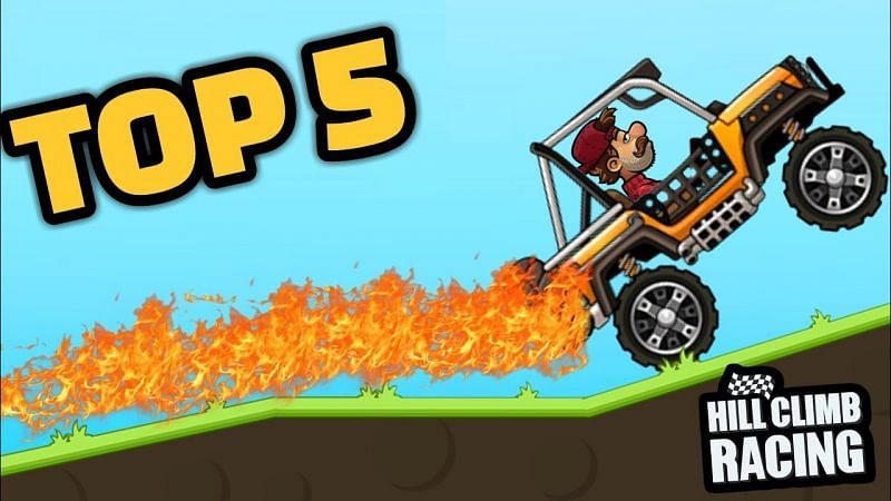 5 best games like Hill Climb Racing. Image Credits: Angelito VIDS (YouTube).