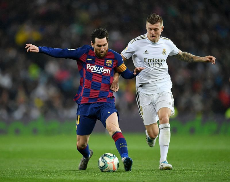 Real Madrid and Barcelona dominate LaLiga