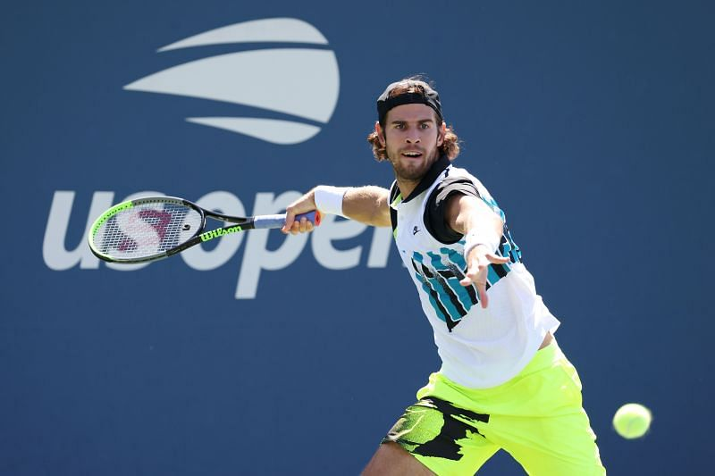 Karen Khachanov at the 2020 US Open
