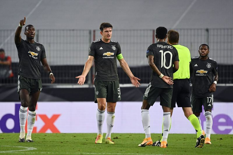 Manchester United finished third in the 2019/20 season