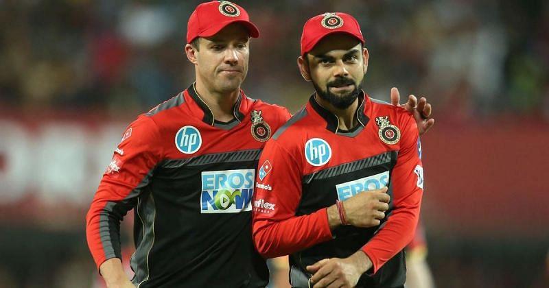 AB de Villiers and Virat Kohli - two of the leading run scorers for RCB
