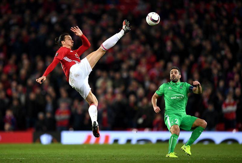 Zlatan doing Zlatan things