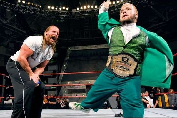 Hornswaggle is one of the youngest ever champions in WWE