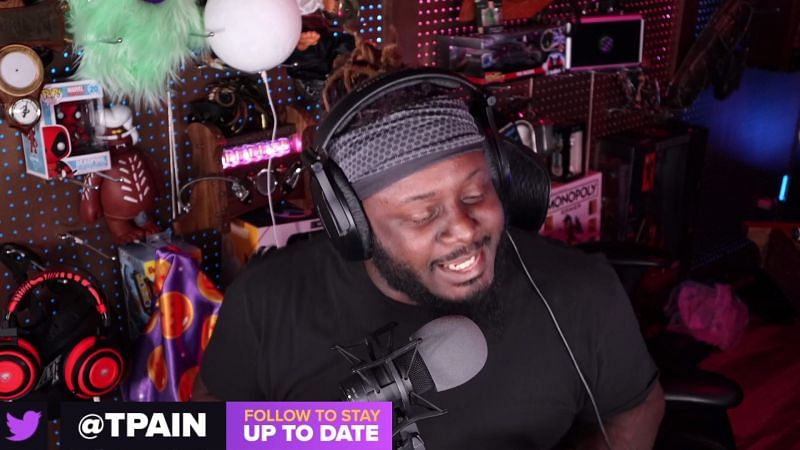 Faheem Rasheed Najm, aka T-Pain, is one of the most prolific artists in the music industry (Image Credits: Twitch.tv)