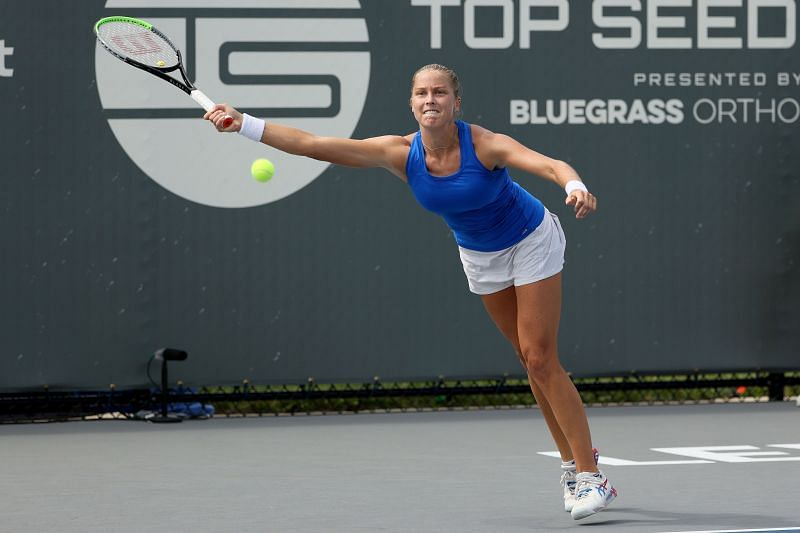 Shelby Rogers at the Top Seed Open in Kentucky in August