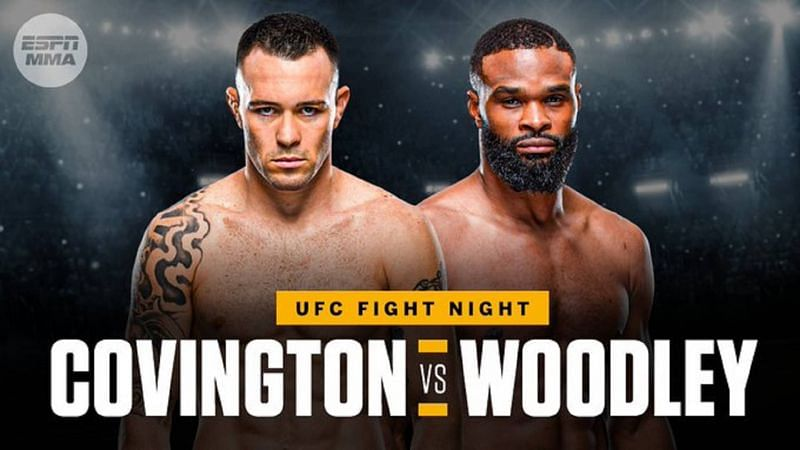 Colby Covington finally faces Tyron Woodley in a major grudge match on this weekend