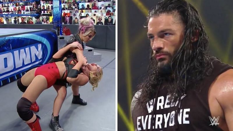 Alexa Bliss continued to tease a new character; Roman Reigns wasn
