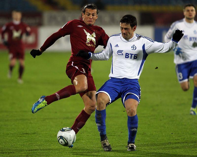 FC Rubin Kazan travel to face FC Dynamo Moscow in the Russian Premier League