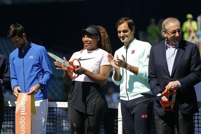 Novak Djokovic, Serena Williams & Roger Federer