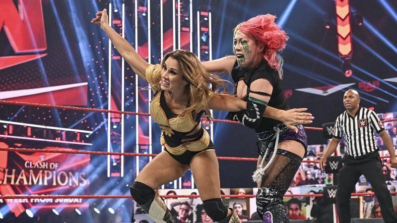 Update On Veteran Mickie James' Injury Against Asuka On WWE Raw 1