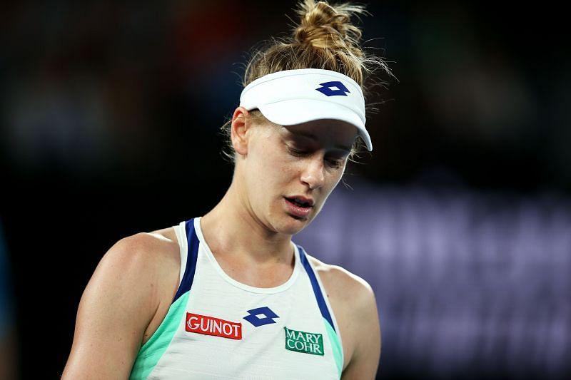 Riske beat Goerges at the Australian Open