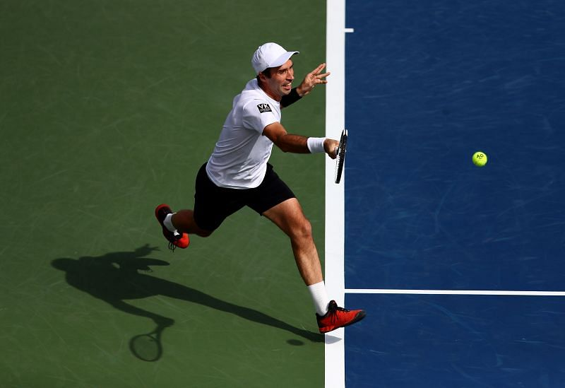 Mikhail Kukushkin claimed a clinical victory in his opening fixture of the 2020 US Open