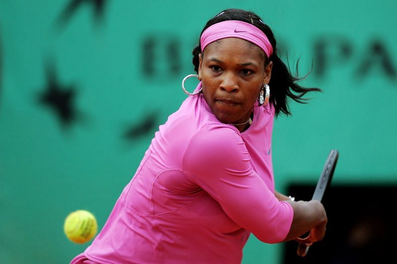 Serena Williams at French Open 2007