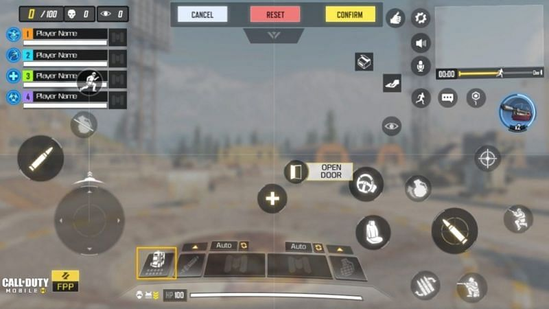 Custom Controls in COD Mobile (Image credits: Outsider Gaming)