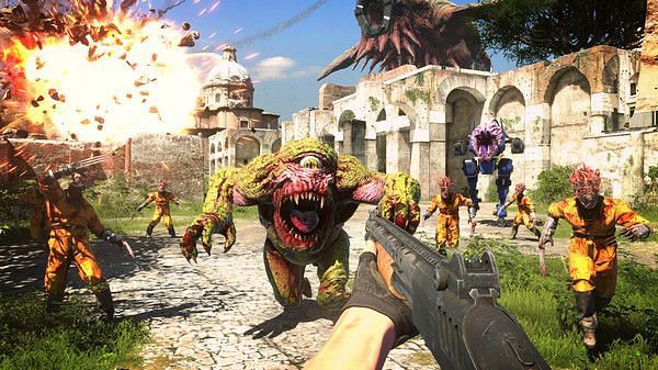 Serious Sam 4 is slated to launch on September 24, 2020 (Image Credit: Croteam)