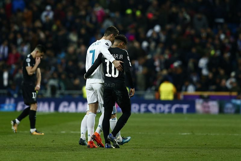 Cristiano Ronaldo and Neymar shared the pitch several times in La Liga