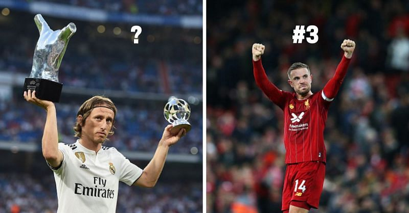 Jordan Henderson and Luka Modric are among the best midfielders in world football at the moment