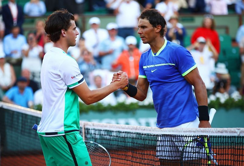 Dominic Thiem lost to Rafael Nadal in the 2018 French Open final