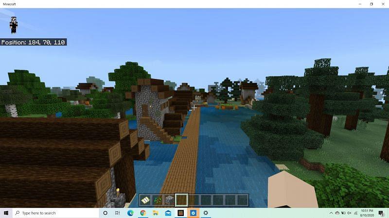 Diamonds in a village (Image credits: Minecraft-seeds.com)