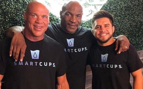 """Kurt Angle has shared his experience of training with """"Iron"""" Mike Tyson"""