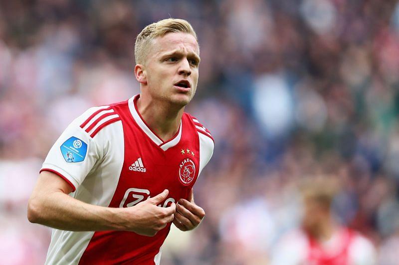 AFC Ajax star Van de Beek became United