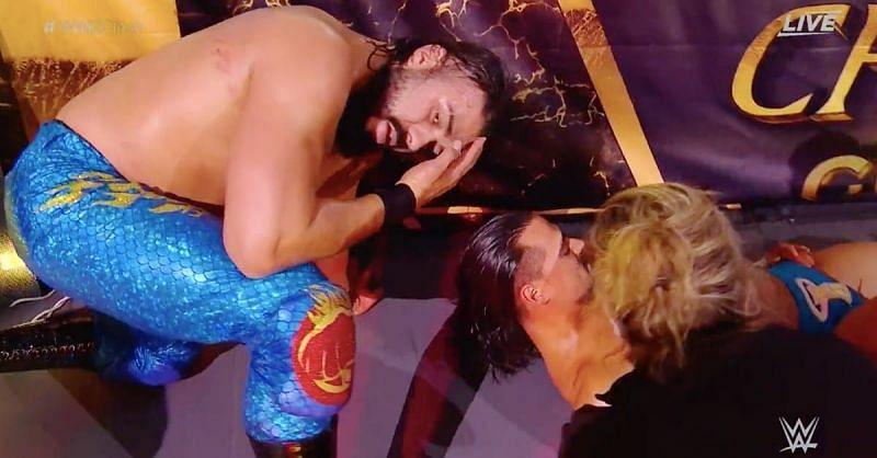 WWE क्लैश ऑफ चैंपियंस के मैच में लगी चोट