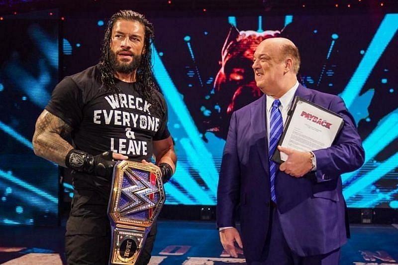 WWE सुपरस्टार रोमन रेंस