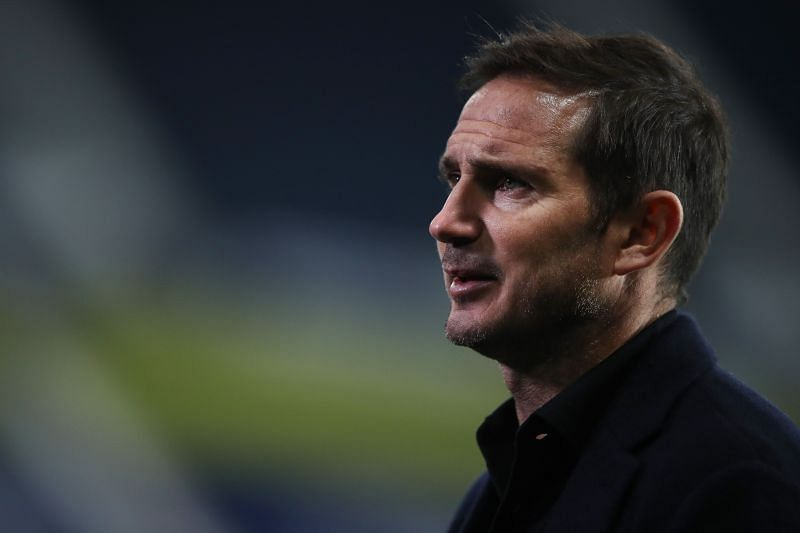 Frank Lampard was furious with Marcos Alonso after the game against West Brom