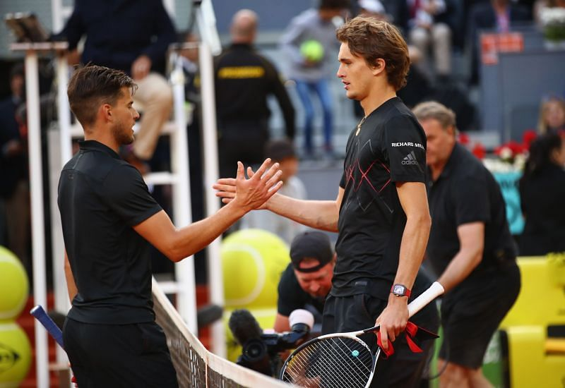 Dominic Thiem and Alexander Zverev will contest the US Open 2020 final