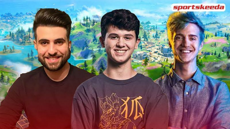 SypherPK, Ninja and Bugha joined forces for a memorable game of Fortnite