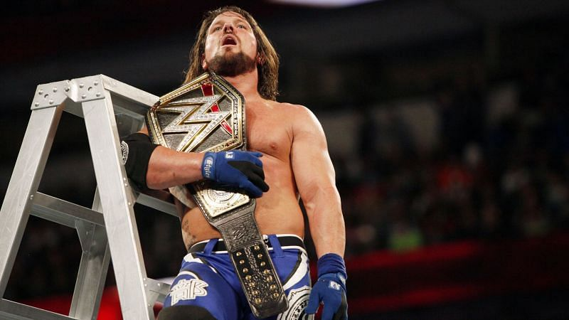 WWE Superstar AJ Styles has taken part in several ladder matches throughout his career
