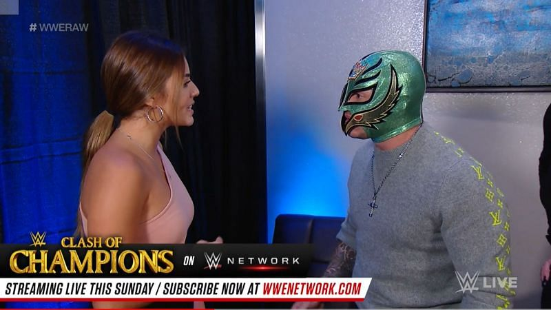 There may be plenty of drama within the Mysterio family