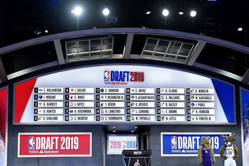 The 2020 NBA Draft is scheduled to be on November 18th