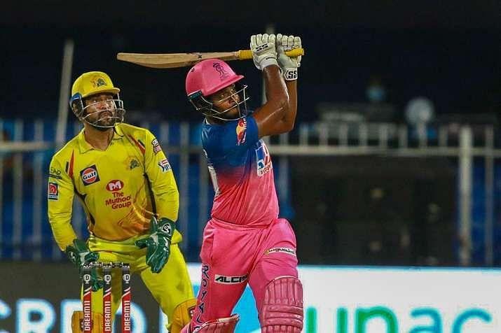 Sanju Samson smashed a 32-ball 74 against MS Dhoni