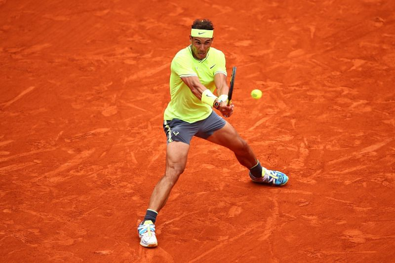 Rafael Nadal has never lost a first-round match at Roland Garros