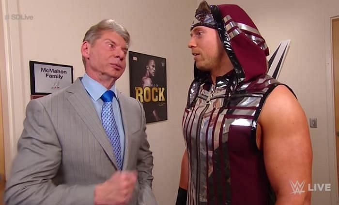 Vince McMahon and The Miz