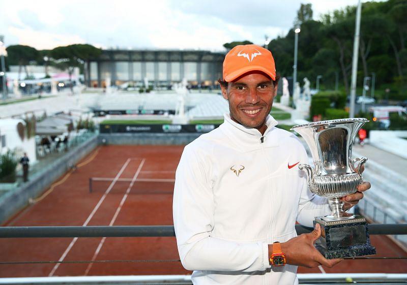 Rafael Nadal at the International BNL d