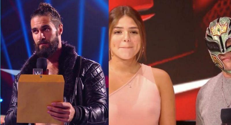Seth Rollins revealed a DNA test on RAW