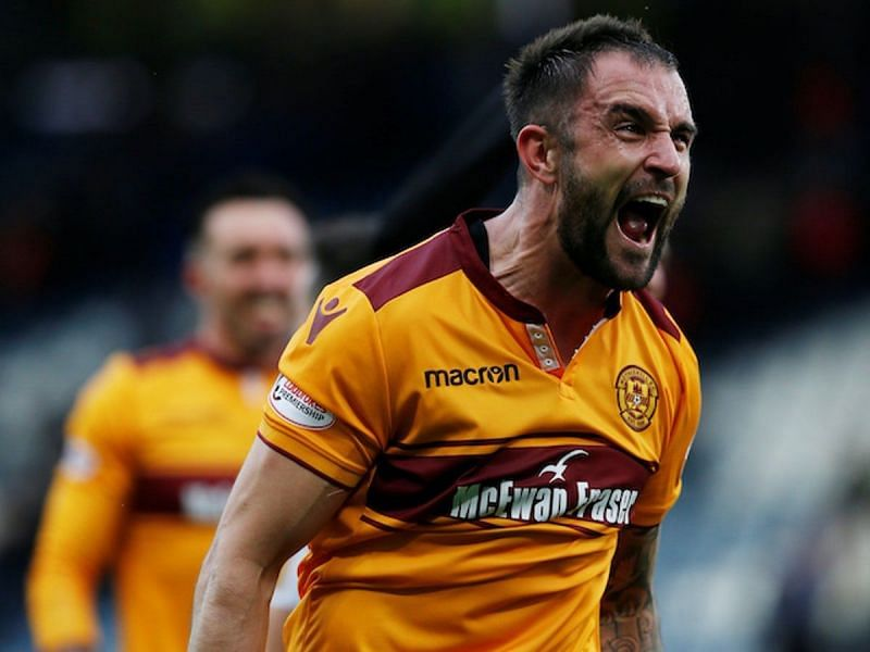 Peter Hartley at Motherwell