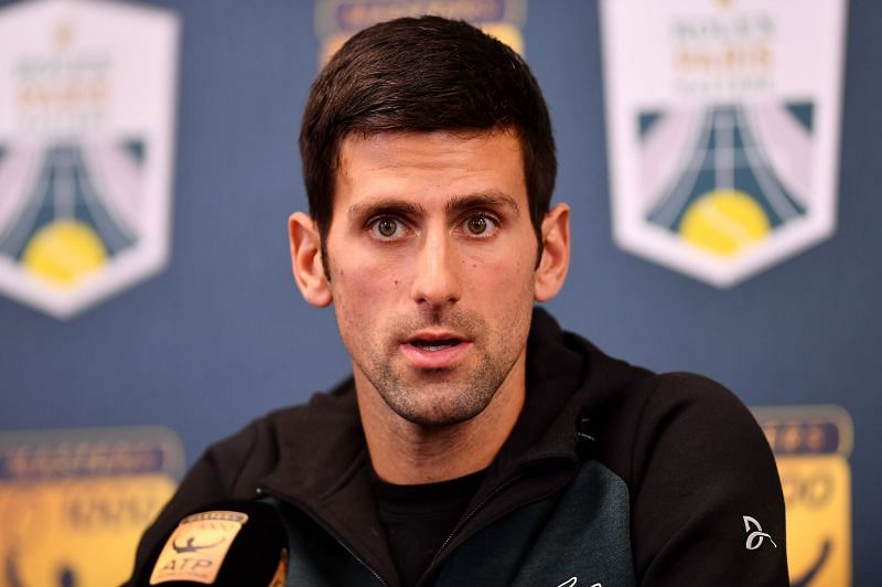 Novak Djokovic missed his post-match press conference