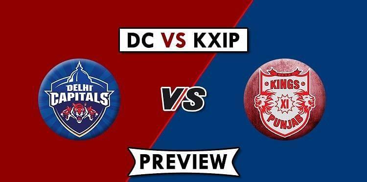 DC vs KXIP, Match No.2 IPL 2020