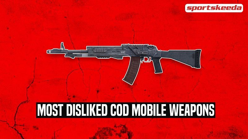 A look at some of the most detested firearms in COD: Mobile