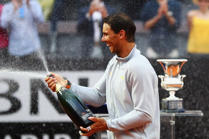 Rafael Nadal in the hunt for a decima of Rome titles