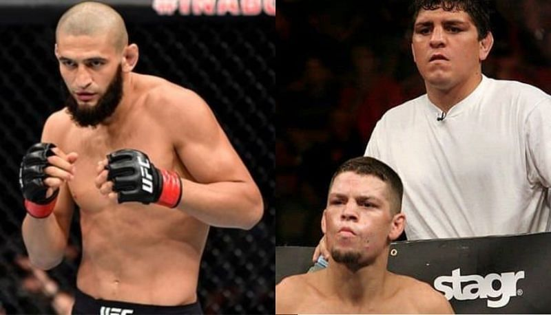 Khamzat Chimaev has called out The Diaz Brothers