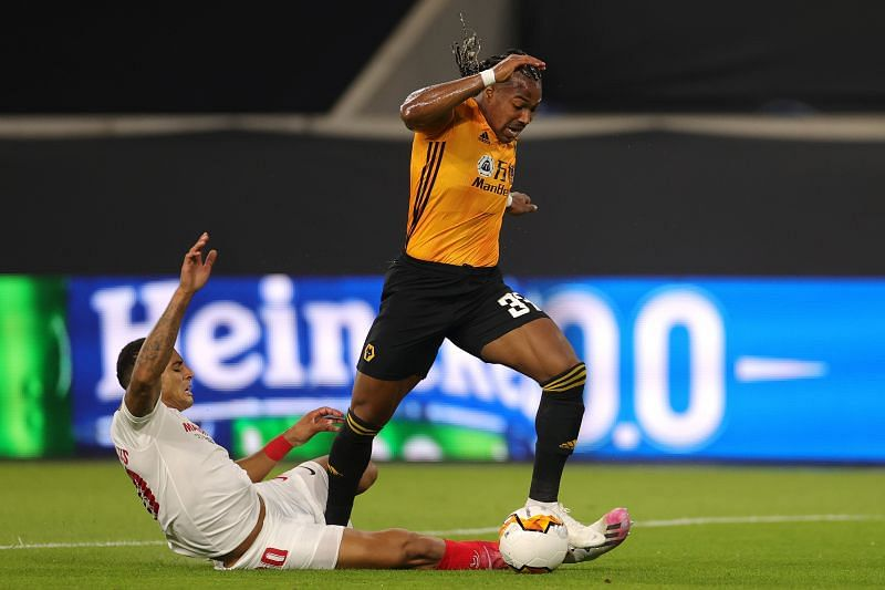 Wolves star Adama Traore has his sights set on the bigger clubs in Europe