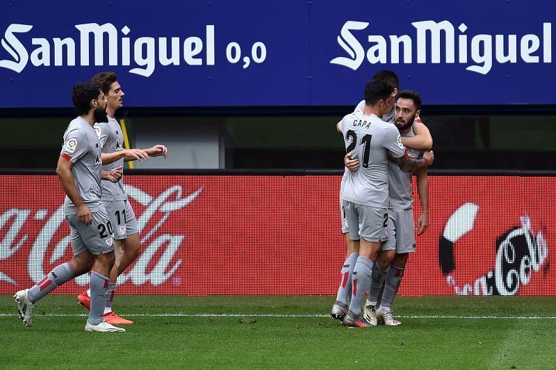 SD Eibar travel to face Athletic Club in La Liga