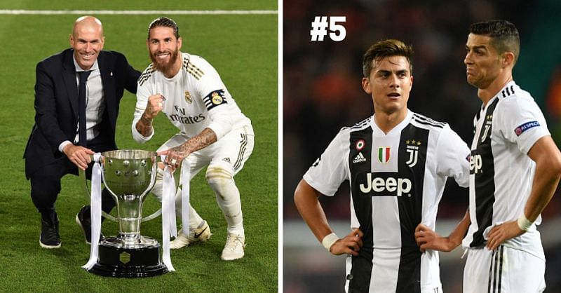 Juventus and Real Madrid will be looking to challenge for the Champions League trophy this season