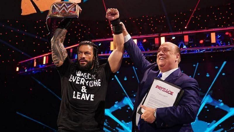 रोमन रेंस WWE Payback में अपने करियर में दूसरी बार यूनिवर्सल चैंपियन बने