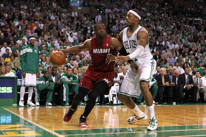 NBA News Update: Wade and Pierce continue to fight for bragging rights in the East